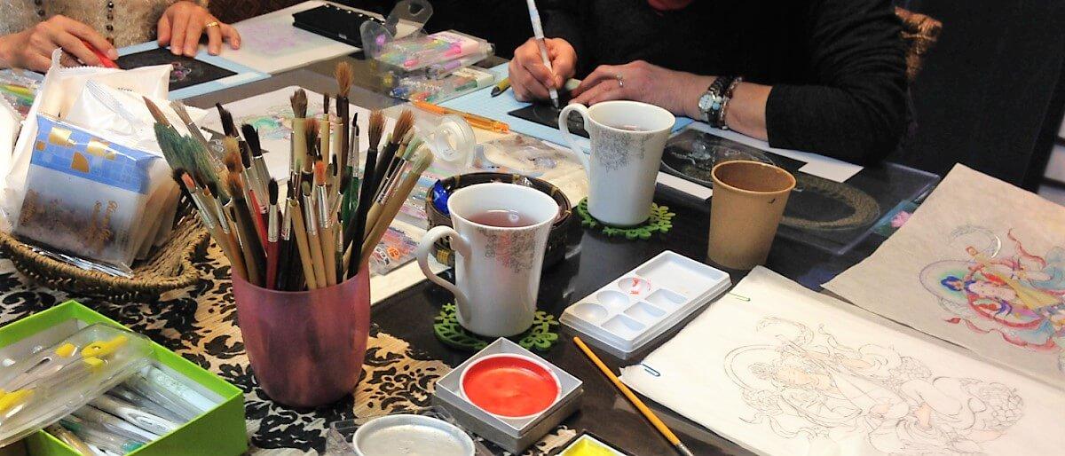仏画教室東京